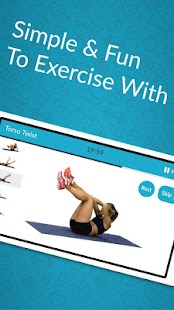 Best Abs Fitness: Core Abdominal Toned Abs Workout- screenshot thumbnail