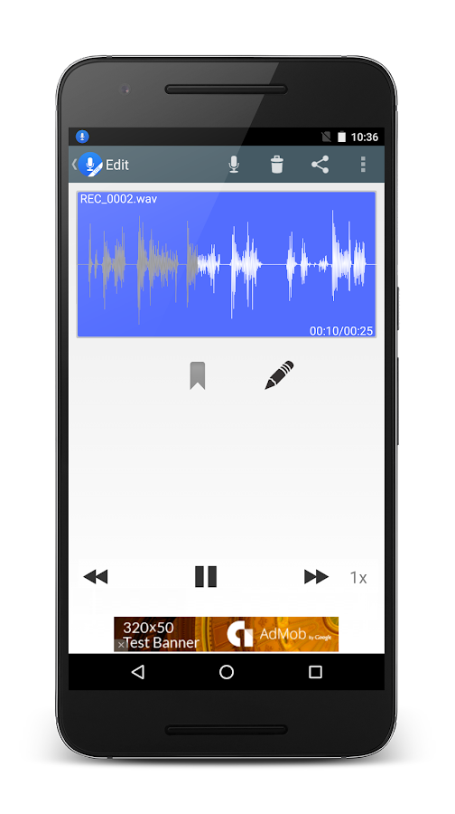 ClearRecord Lite - Noise Free- screenshot