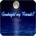Good Night SMS With Images icon