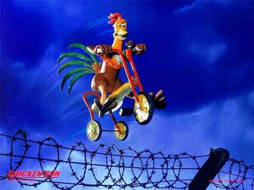Chicken Run Cartoon Picture 2