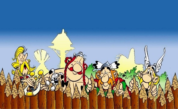 Asterix and Obelix Cartoon Picture 3