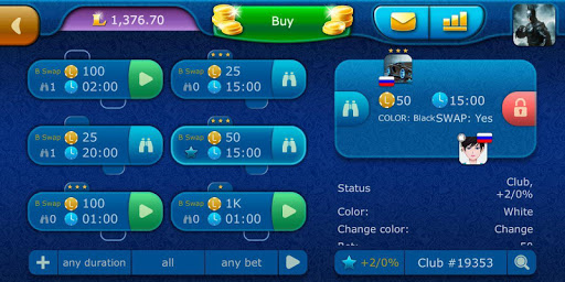 Checkers LiveGames - free online game 3.86 7