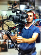 Photo: Preston Kanak on set with SHAPE COMPOSITE STABILIZER