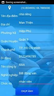 Address list - náhled