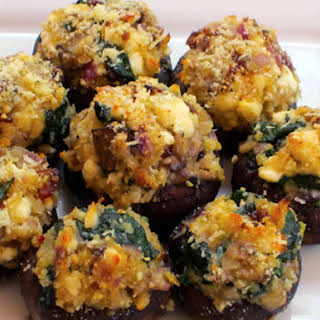 Stuffed Mushrooms.