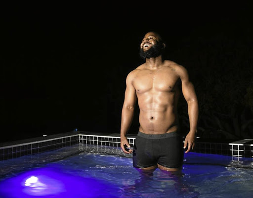 Now that he has lost the mkhaba, his toned new body, and beard, are driving the ladies wild. / Jabulani Nkosi