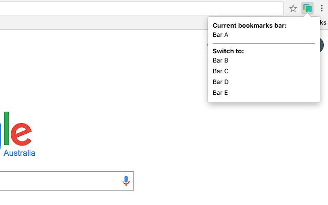 Bookmarks Bar Switcher