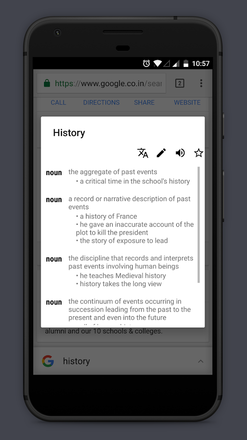 Look Up - A Pop Up Dictionary- screenshot