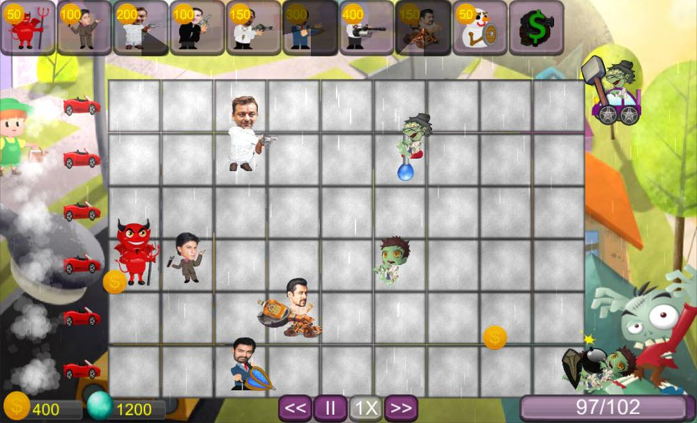 Bollywood vs Zombies- screenshot