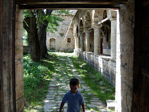 Photo: A little boy who was staying with the orthodox priest - he was our guide.