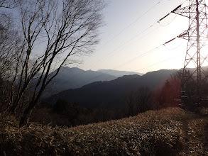 南木曽岳方面