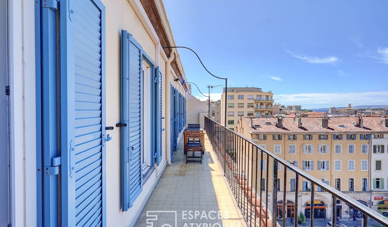 Appartement avec terrasse Marseille 1er