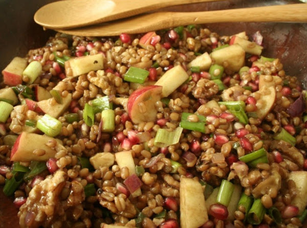Wheat Berry Salad With Pomegranate Recipe