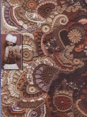 Uncinetto Russo.Doda Crochet Capolavori In Lana