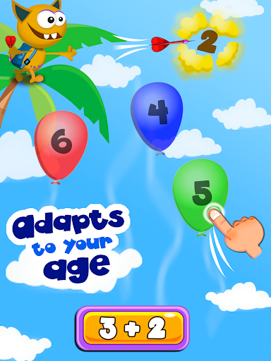 Buddy School: Basic Math learning for kids app for Android screenshot