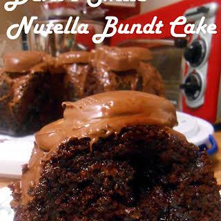 Devil's Smile Nutella Bundt Cake.