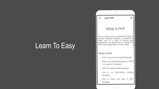 Learn PHP 2.1 screenshots 3