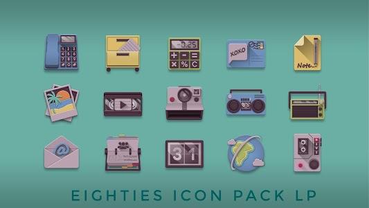 Eighties retro fun icon pack v1.1.4