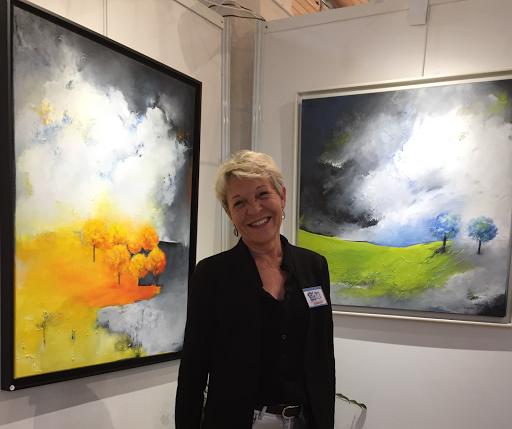 Lydie Allaire artiste peintre-tableaux de paysages-art contemporain-contemporary art-artiste femme-Nantes-Galerie Allaire-Aigret Paris-SLAB La baule-Singular-Artmajeur