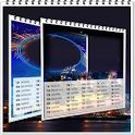 Calendar 2018 photo frames wallpaper icon
