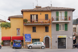 Photo: Houses and stores outside the villa