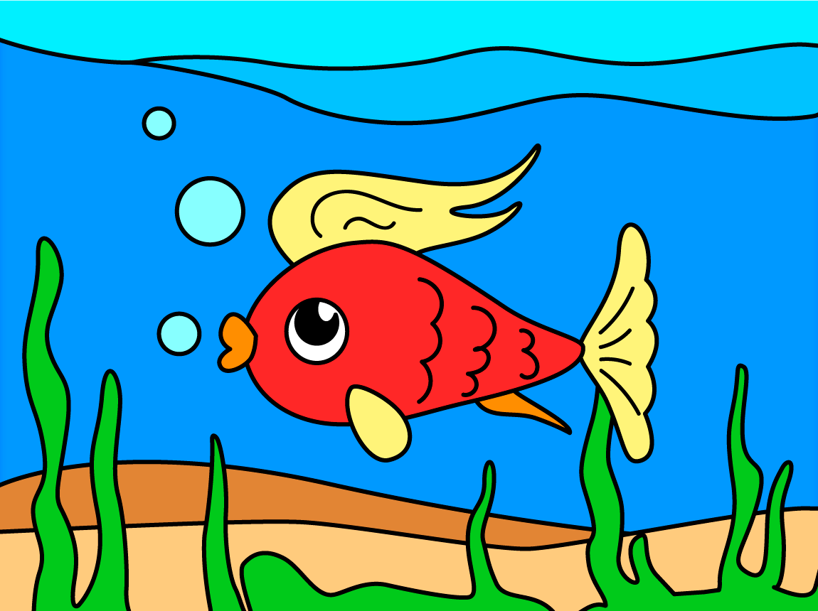 coloring games coloring book screenshot