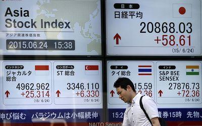 Asiatiese aandele sukkel namate beleggers na veiliger opsies soek