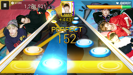 SuperStar JYPNATION APK screenshot thumbnail 1
