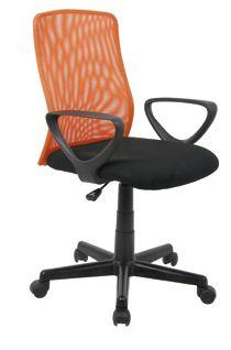 sillas oficina naranja