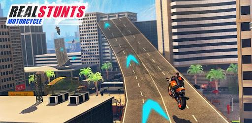 Grand City Moto X Bike Stunts