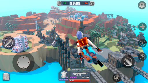 ROYALE LEGENDS: mobile Online FPS shooter battle screenshots 9