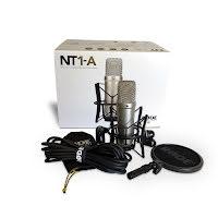 Rode NT1-A kondensator Studio Kit