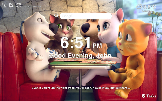 Talking Tom and Friends Wallpapers Tab