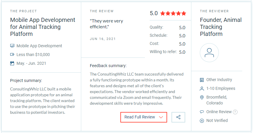 Best Review on Animal Tracking App Development