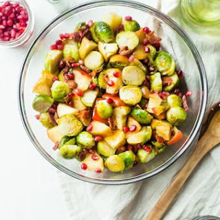 Superfood Roasted Brussels Sprouts with Bacon