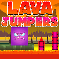 Lava Jumpers – Cube Run and Jump