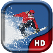 Amazing Snowboard Live Wallpap