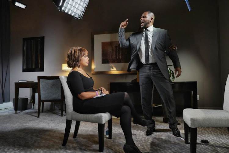 R. Kelly got emotional during his interview with Gayle King on CBS This Morning.
