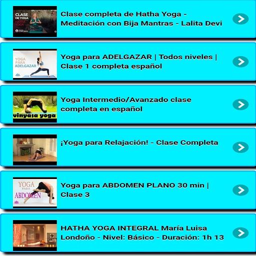 ... Yoga Clases screenshot 8 ... 3da5e0678ad0