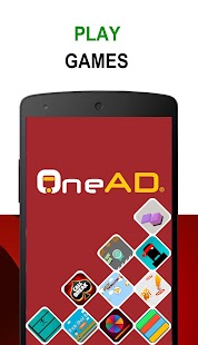 OneAD - Play Games! Screenshot