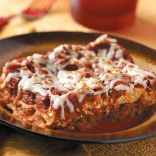 Weekday Lasagna