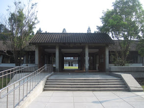Photo: TungHai University feels like walking around in a cross between a Shaolin Temple and a Botanical Garden.  Really