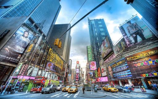 Time Square Live Wallpaper