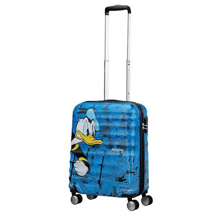 American Toursister Wavebreaker Disney Donald Duck Kabinväska 55cm