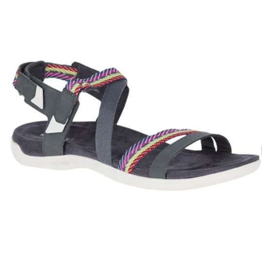 Merrell District Mendi Backstrap Sandal Turbulence Dam Stl: 38