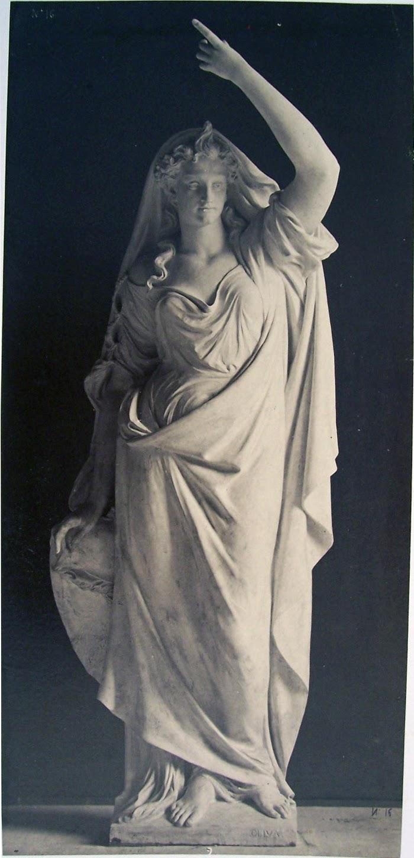 Louis-Emile Durandelle, Le Nouvel Opera de Paris, Statues Decoratives, Foi (par Alexandre-Joseph Oliva), 1875