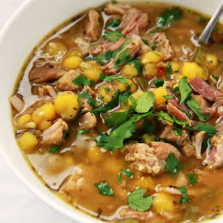 Pork and Hominy Soup