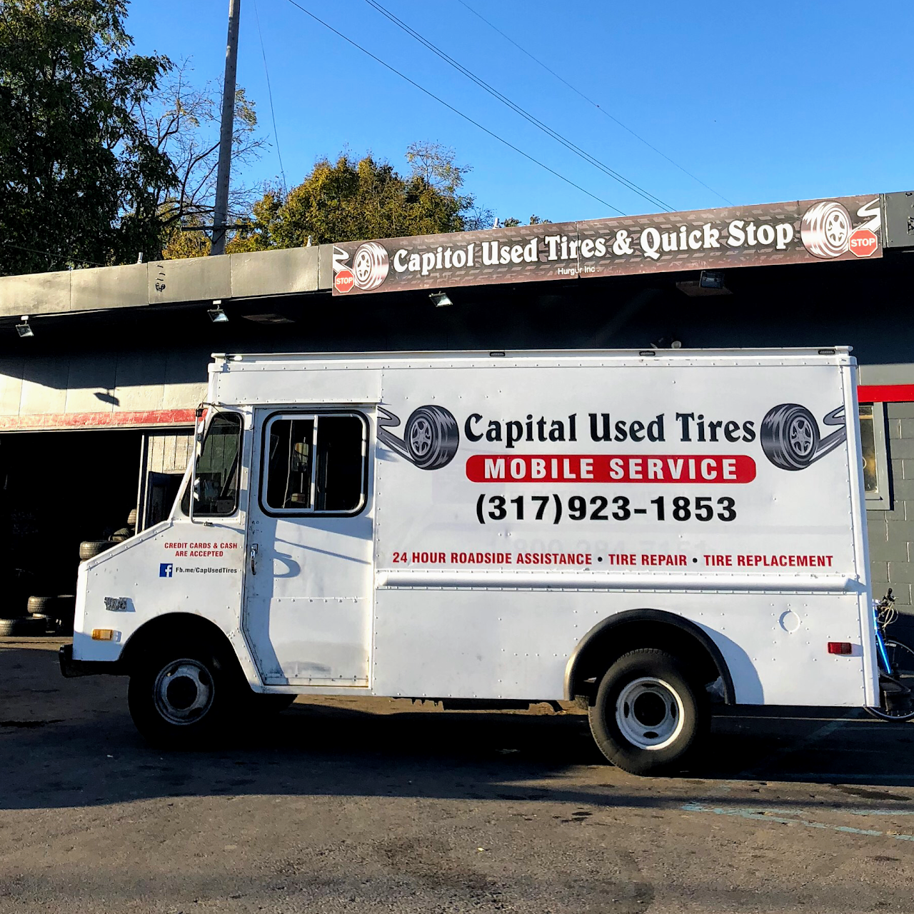 Capital Used Tires And Quick Stop We Are A Used Tire Shop That