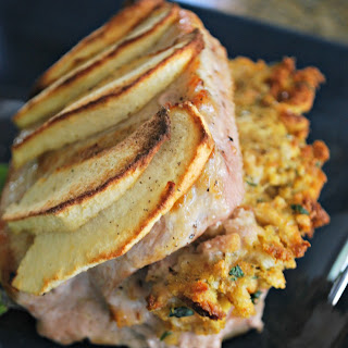 Stuffed Pork Chops with Apples Recipe