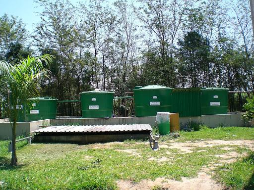 estação de tratamento de efluente industrial